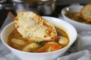 Zupa włoska Minestrone