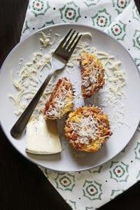Muffiny z serem białym