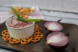 Celeriac and onion dip