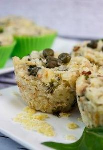 muffinki z makaronem i tuńczykiem