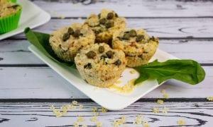makaronowe muffiny z tuńczykiem