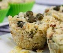 Gluten-free pasta muffins