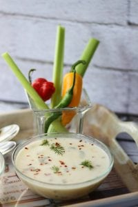 Sweetcorn and shrimp soup