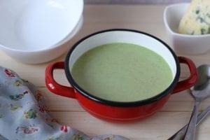 Zupa krem warzywna z brokułem