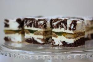 Ciasto puszysta Hrabina z galaretką
