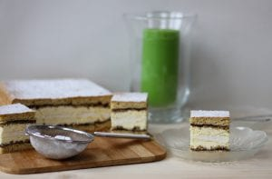 Kruche ciasto z bezą