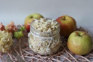Surówka z selera z jabłkiem i chrzanem