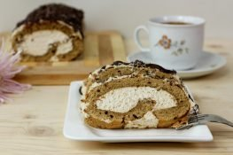 Swiss coffee cake