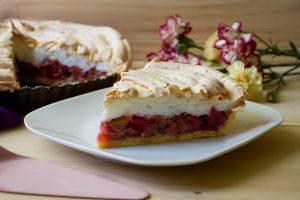rabarbarowe ciasto