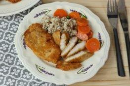 Chicken breast in Parmesan
