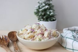 Potato and onion salad