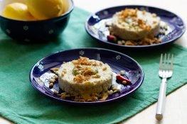 Celeriac and tofu tartare