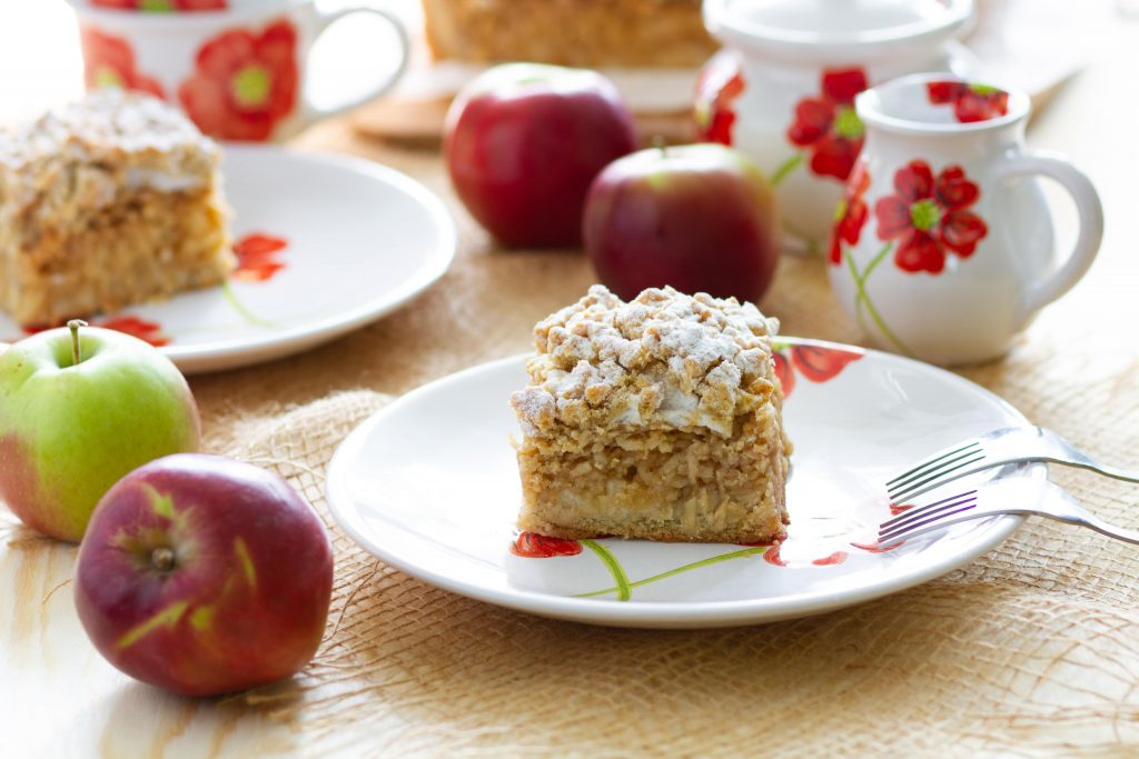 Apple cake without gluten