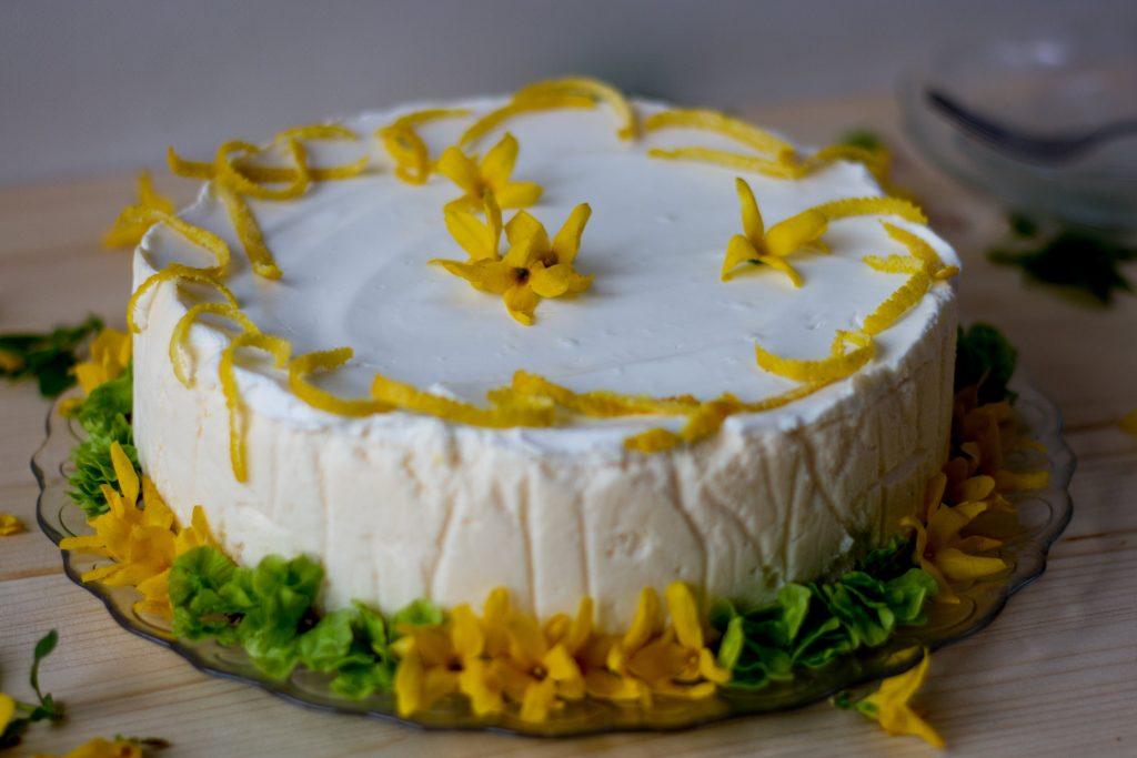 Cheesecake with mascarpone