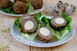 Crispy Scotch eggs
