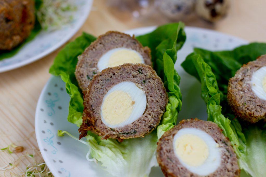 Crispy Scotch eggs