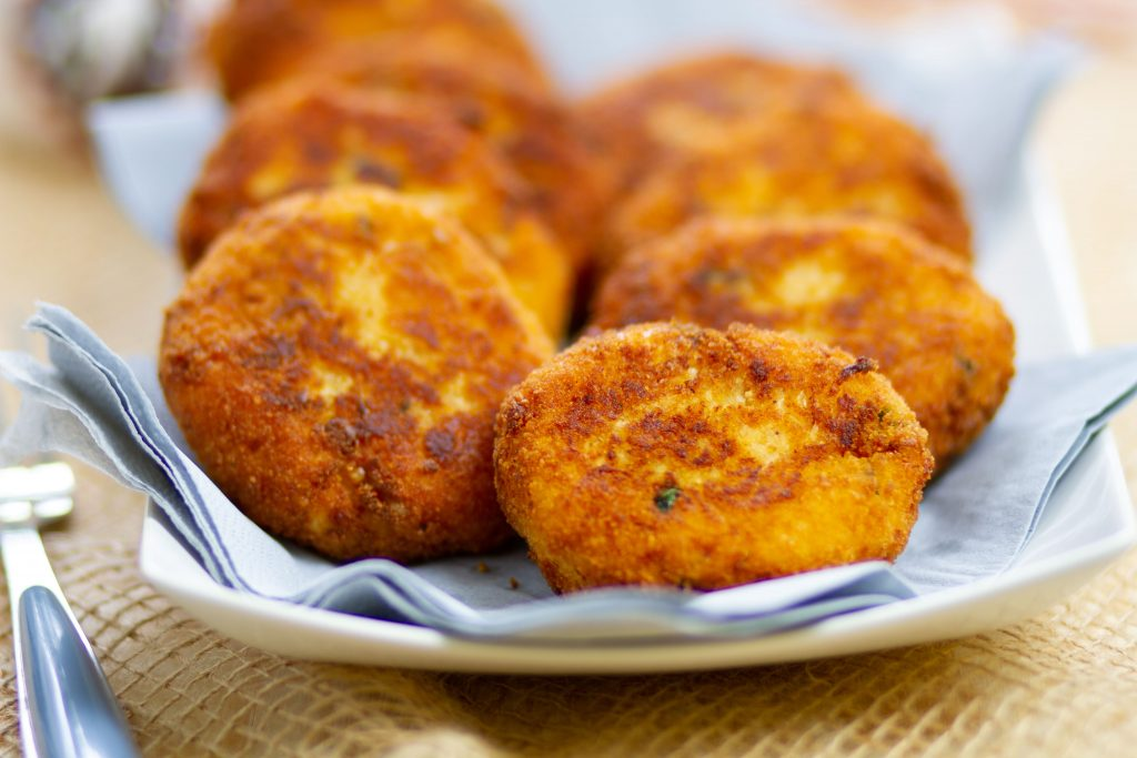 Potato and cabbage cakes