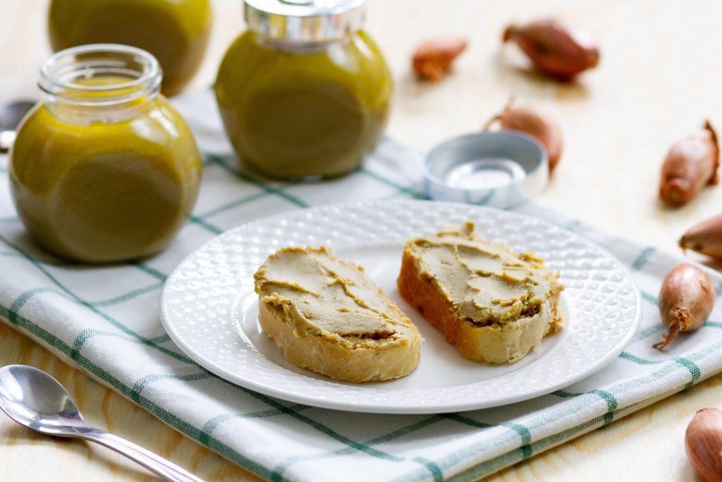 Creamy foie gras pate