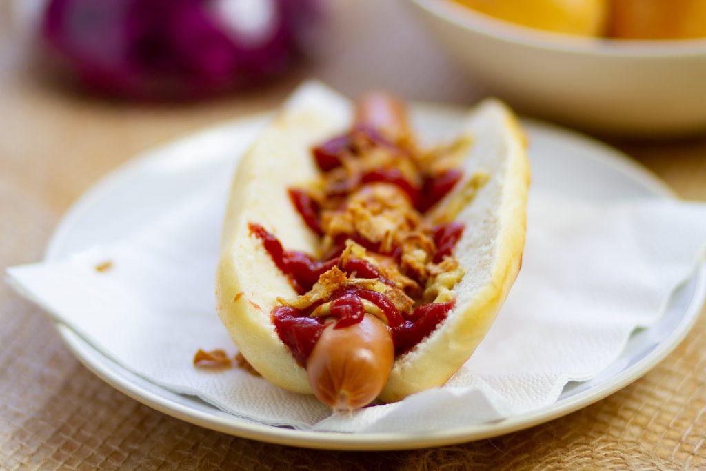 Soft hot dog buns