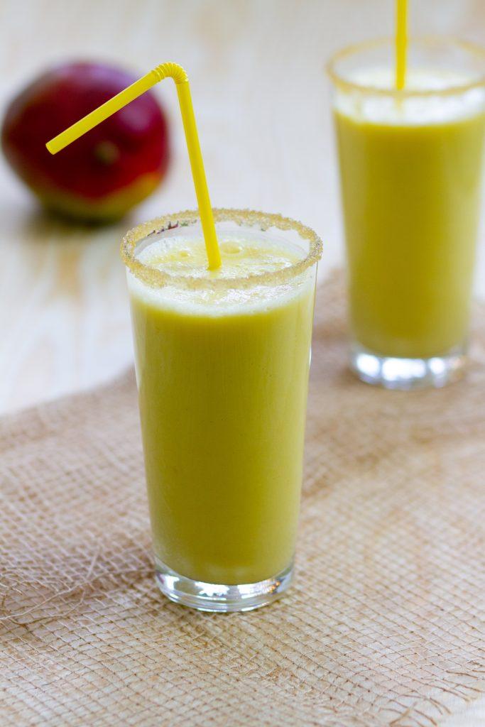 Lassi from mango