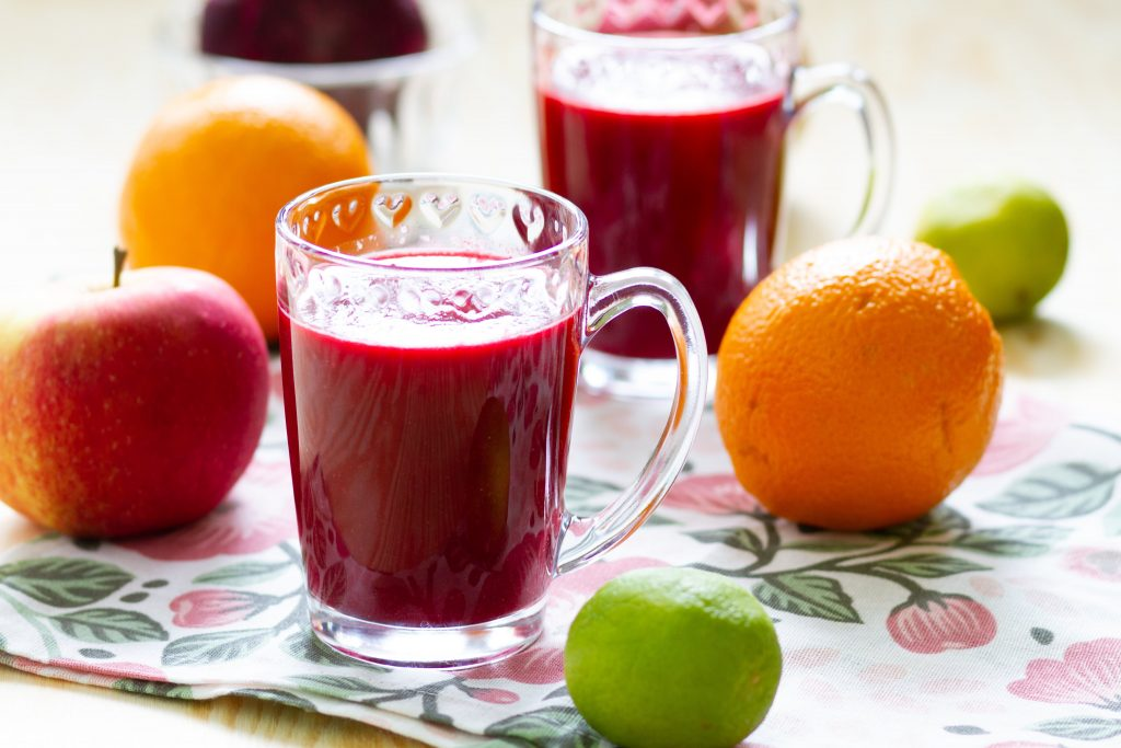 Smoothie from beetroot