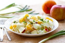 Fresh fennel salad