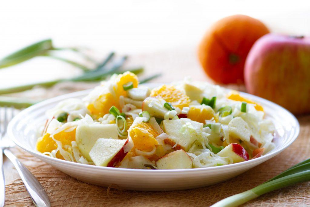 Freh fennel salad