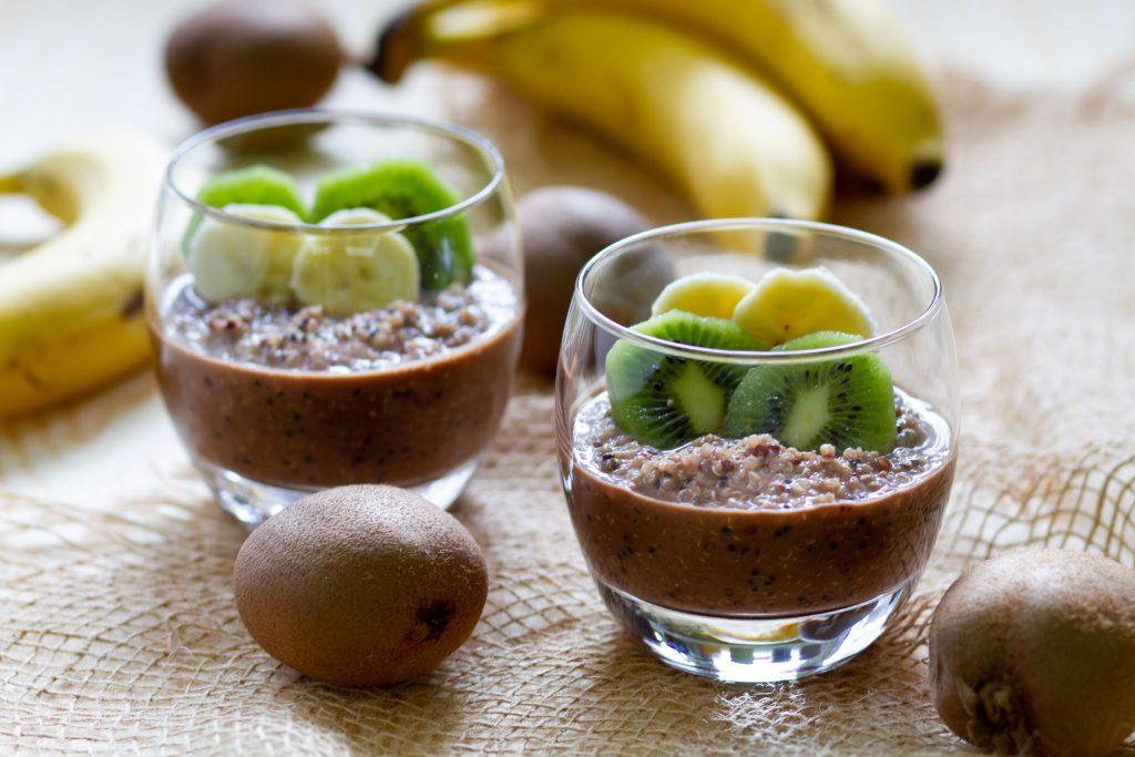 Overnight chocolate quinoa