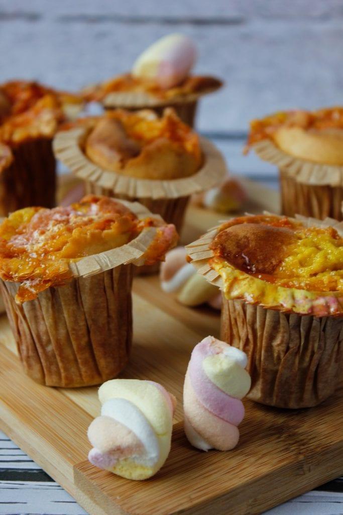 Marshmallow muffins