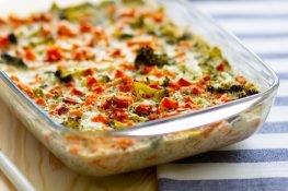 Broccoli and potato casserole
