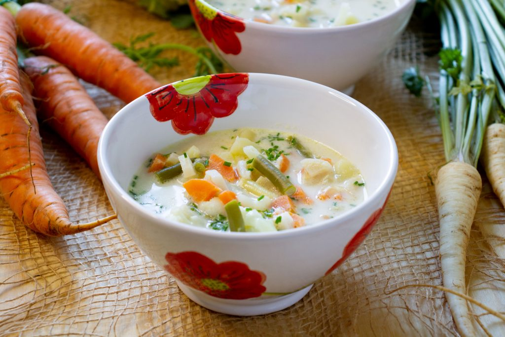 Soup from vegetables