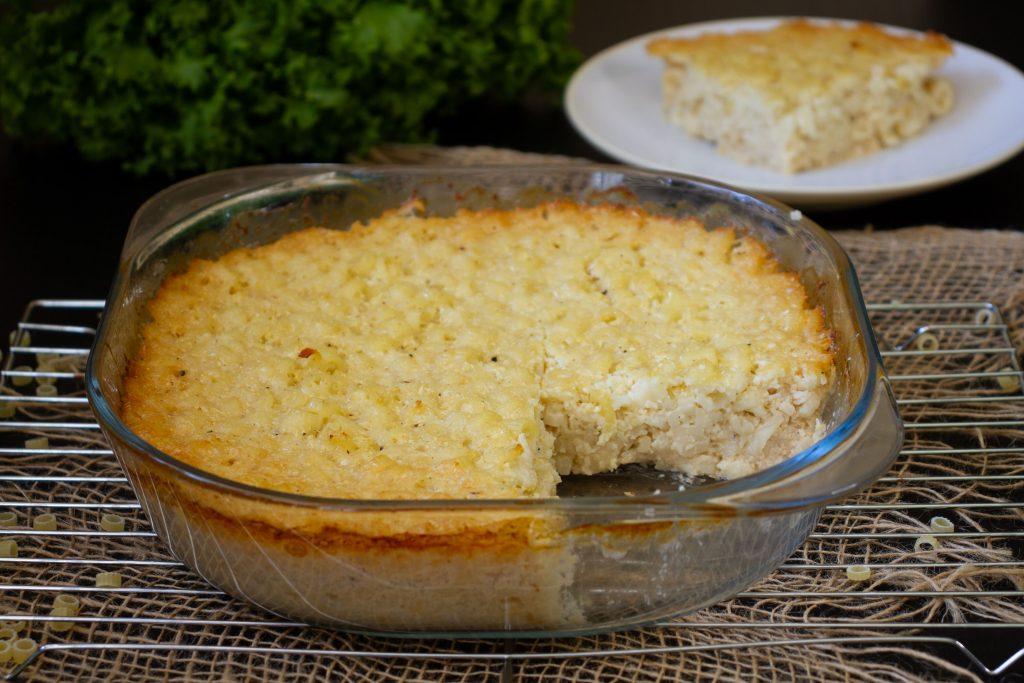 Macaroni with cauliflower