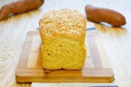 Homemade sweet potato bread