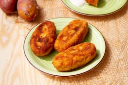 Croquettes with sausages